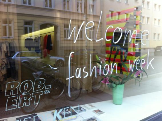 ROB-ERT showroom zur fashion week 2014