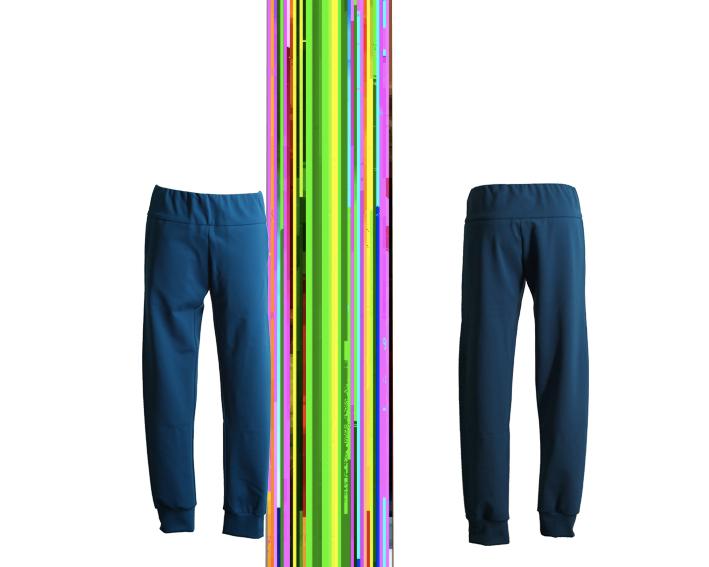 W17 Tr04 trousers jersey petrol