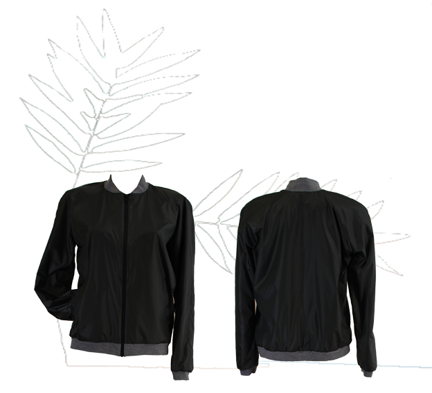 S18 J01 blouson zip nylon