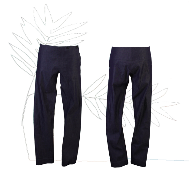 S18 Tr03 trousers blue jeans