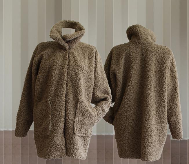 W20 C01 coat fake fur