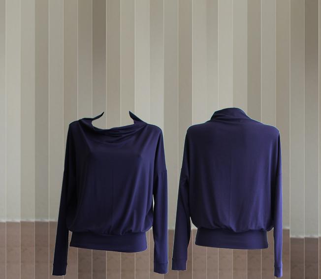 W20 T09 top boat neck lavender