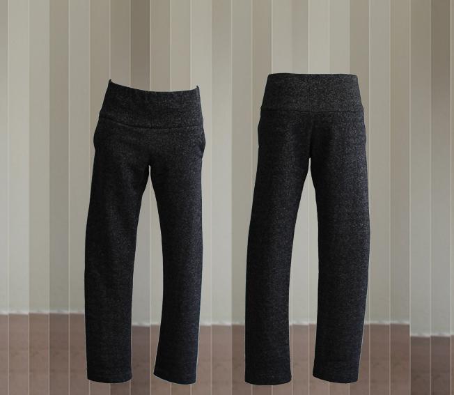 W20 Tr03 trousers glitter sweat black