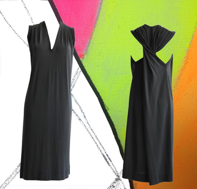 S20 D04 dress twisted dark